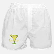 Margarita Time - Five O'clock 9 To 5 Boxer Shorts