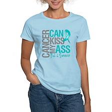 Ovarian Cancer Can Kiss My Ass T-Shirt