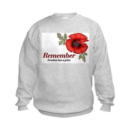 Remember Poppy Kids Sweatshirt