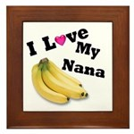 I Love Nana!! Framed Tile