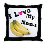 I Love Nana!! Throw Pillow