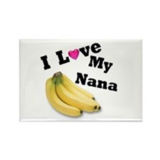 I Love Nana!! Rectangle Magnet