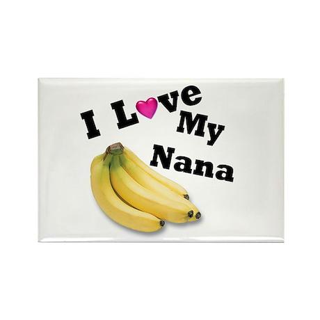 I Love Nana!! Rectangle Magnet