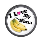 I Love Nana!! Wall Clock