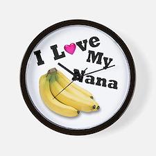 I Love Nana!! Wall Clock