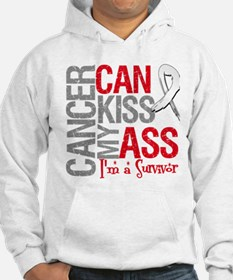Lung Cancer Can Kiss My Ass Hoodie