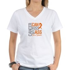Leukemia Cancer Can Kiss My Ass T-Shirt