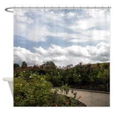 3d Clouds Nature Scene Shower Curtain
