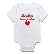 Brooklyn Loves Grandma Infant Bodysuit