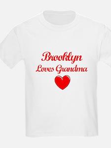 Brooklyn Loves Grandma T-Shirt