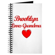 Brooklyn Loves Grandma Journal