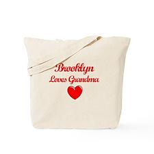 Brooklyn Loves Grandma Tote Bag