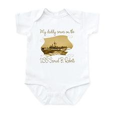 Cute Uss nimitz Infant Bodysuit