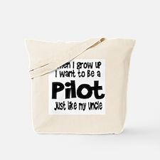 WIGU Pilot Uncle Tote Bag