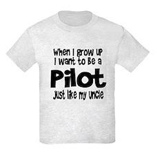 WIGU Pilot Uncle T-Shirt