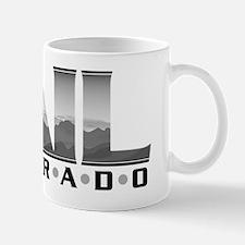 Gray Mountains in type-CO Mug