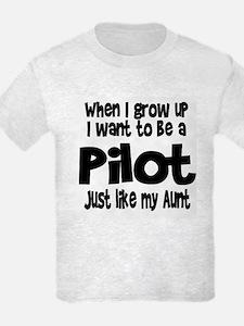 WIGU Pilot Aunt T-Shirt