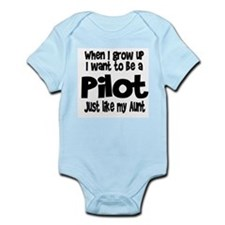 WIGU Pilot Aunt Infant Bodysuit