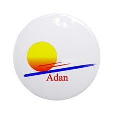 Adan Ornament (Round)