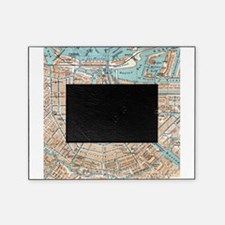 Vintage Map of Amsterdam (1905) Picture Frame