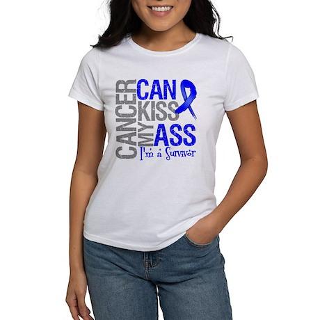 Colon Cancer Can Kiss My Ass T-Shirt