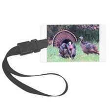 Wild Turkeys Luggage Tag