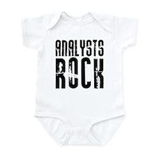 Analysts Rock Infant Bodysuit