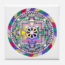 Mandala Tile Coaster