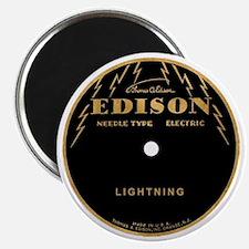 Vintage Edison Record Label Magnet