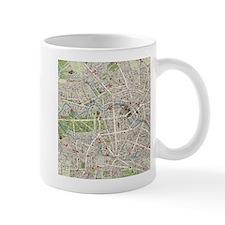 Vintage Map of Berlin Germany (1905) Mugs