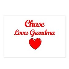 Chase Loves Grandma Postcards (Package of 8)