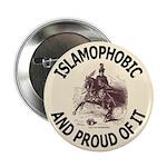 "Islamophobe 2.25"" Button (100 pack)"