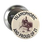 "Islamophobe 2.25"" Button (10 pack)"