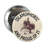 Islamophobe Button
