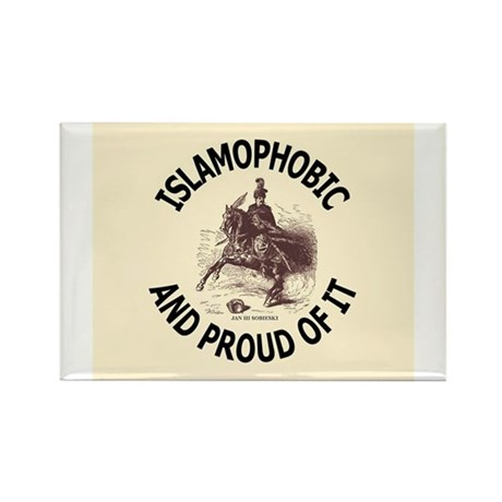 Islamophobe Rectangle Magnet