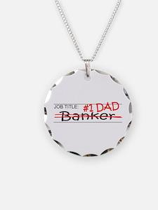 Job Dad Banker Necklace
