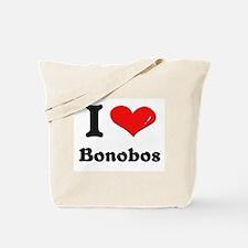 I love bonobos Tote Bag