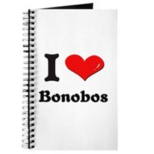 I love bonobos Journal