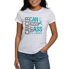 Cervical Cancer Can Kiss My Ass T-Shirt