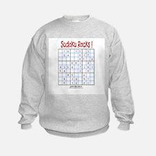 Sudoku Rocks! Sweatshirt