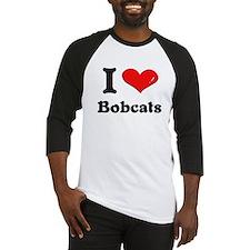 I love bobcats Baseball Jersey