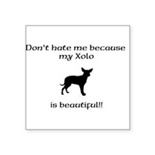 Dont hate...Xolo Sticker