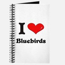 I love bluebirds Journal