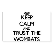 Keep calm and Trust the Wombats Decal