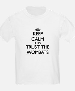 Keep calm and Trust the Wombats T-Shirt