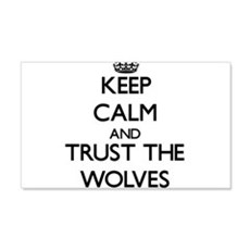 Keep calm and Trust the Wolves Wall Decal