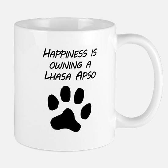 Happiness Is Owning A Lhasa Apso Mugs