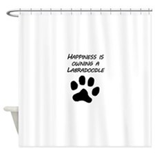 Happiness Is Owning A Labradoodle Shower Curtain