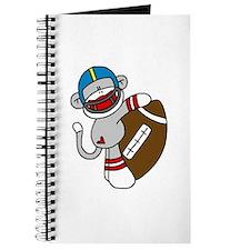 Sock Monkey Football Journal