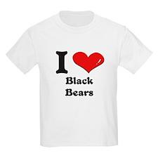 I love black bears T-Shirt